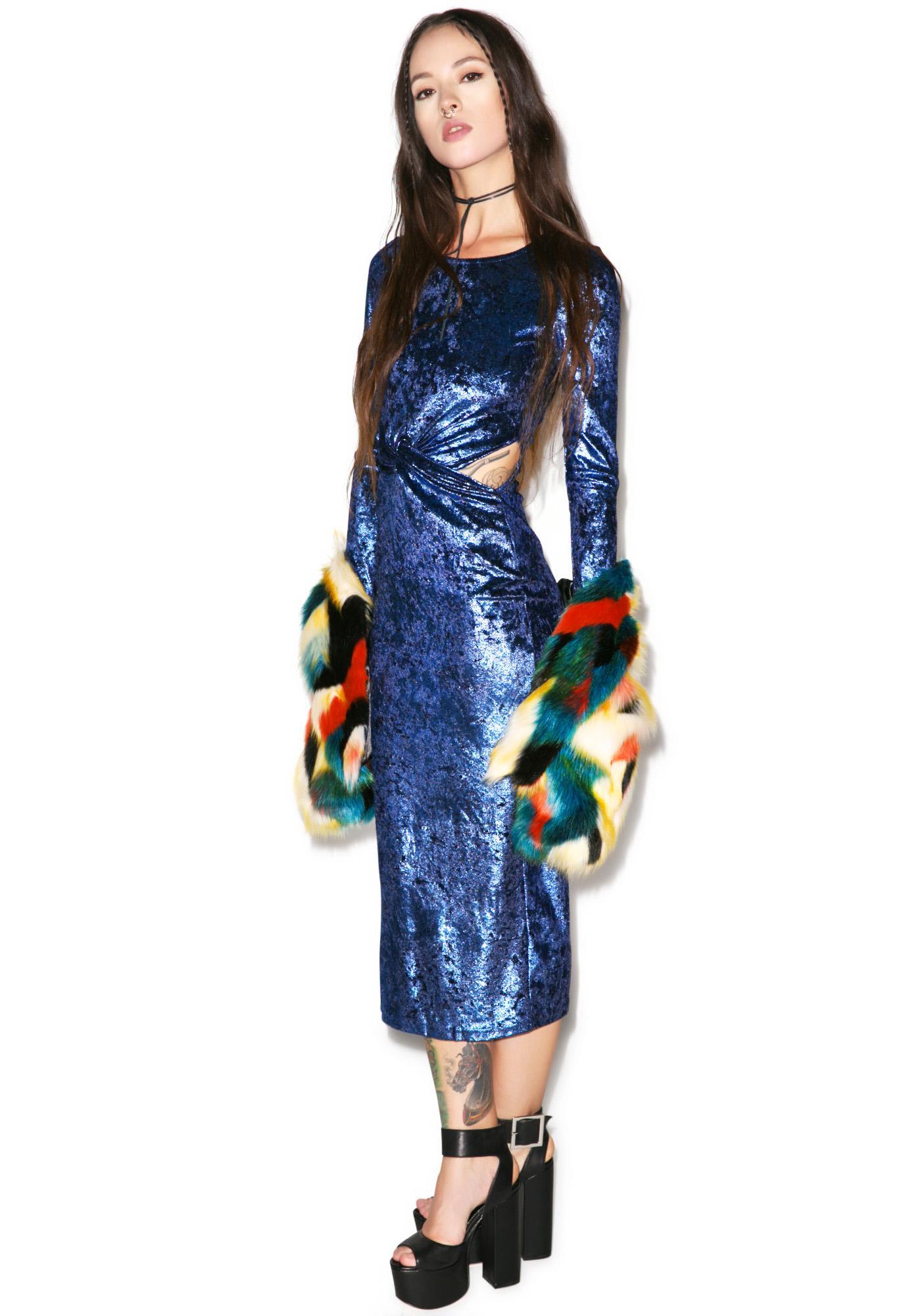 Glamorous Midnight Romance Dress