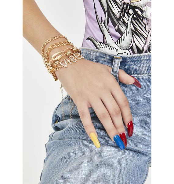 Catchin' Vibes Bracelet Set