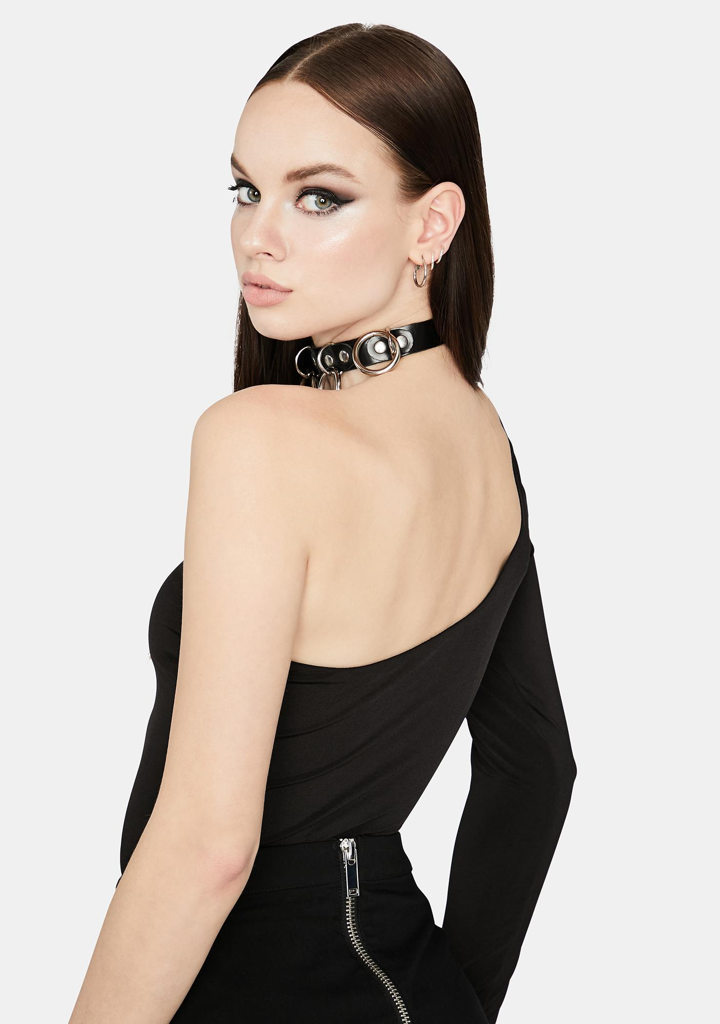 Make A Statement Cut Out Bodysuit