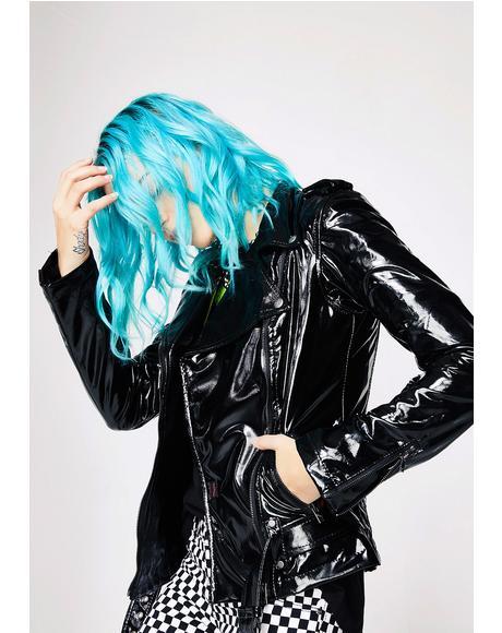 Vinyl Moto Jacket