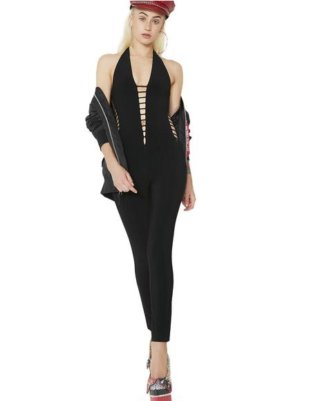 Mizz Independent Ladder Cutout Jumpsuit