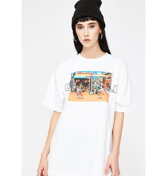 Dumbgood Street Fighter Chun Li Graphic Tee