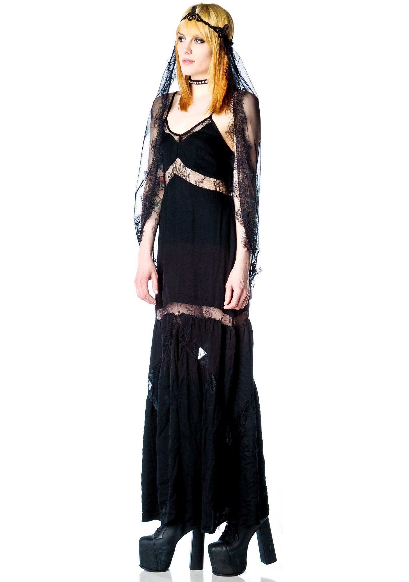 Stylestalker All the Way Lace Maxi Dress