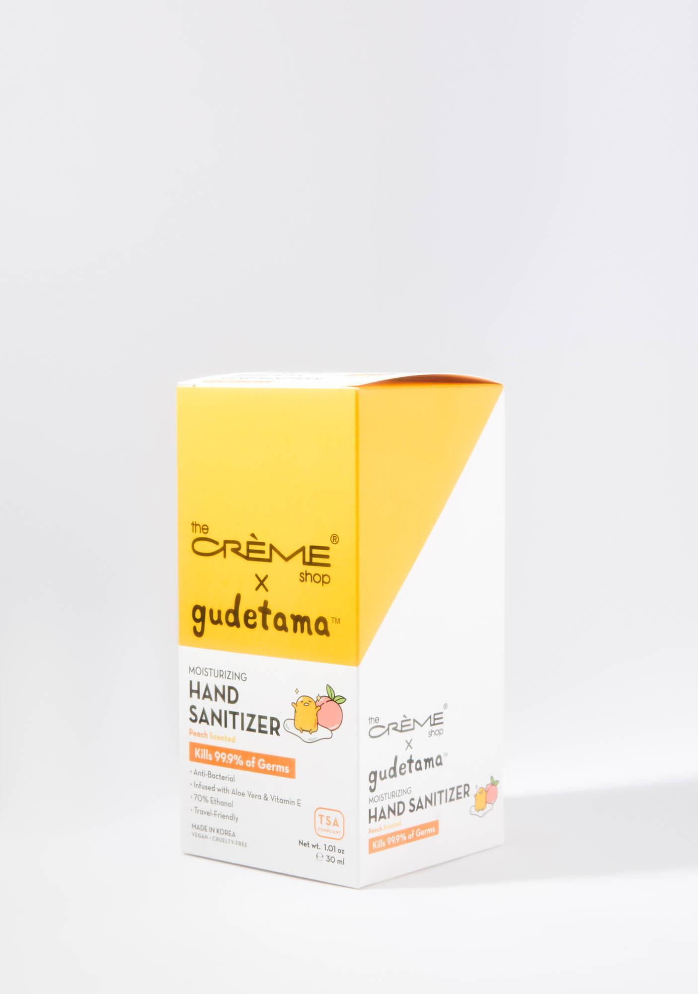 The Crème Shop Gudetama Hand Sanitizer Pouch Peach