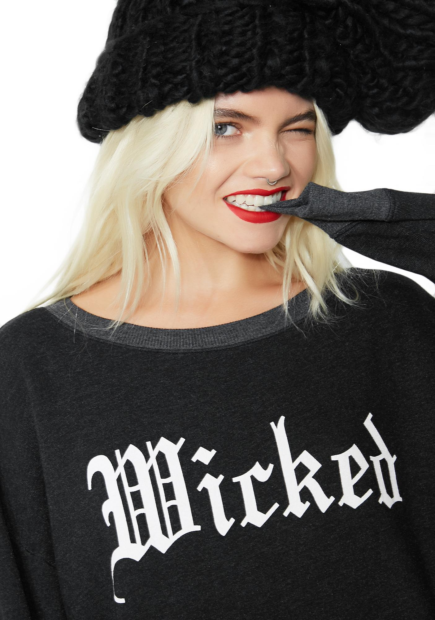 Wildfox Couture Wicked Roadtrip Sweater