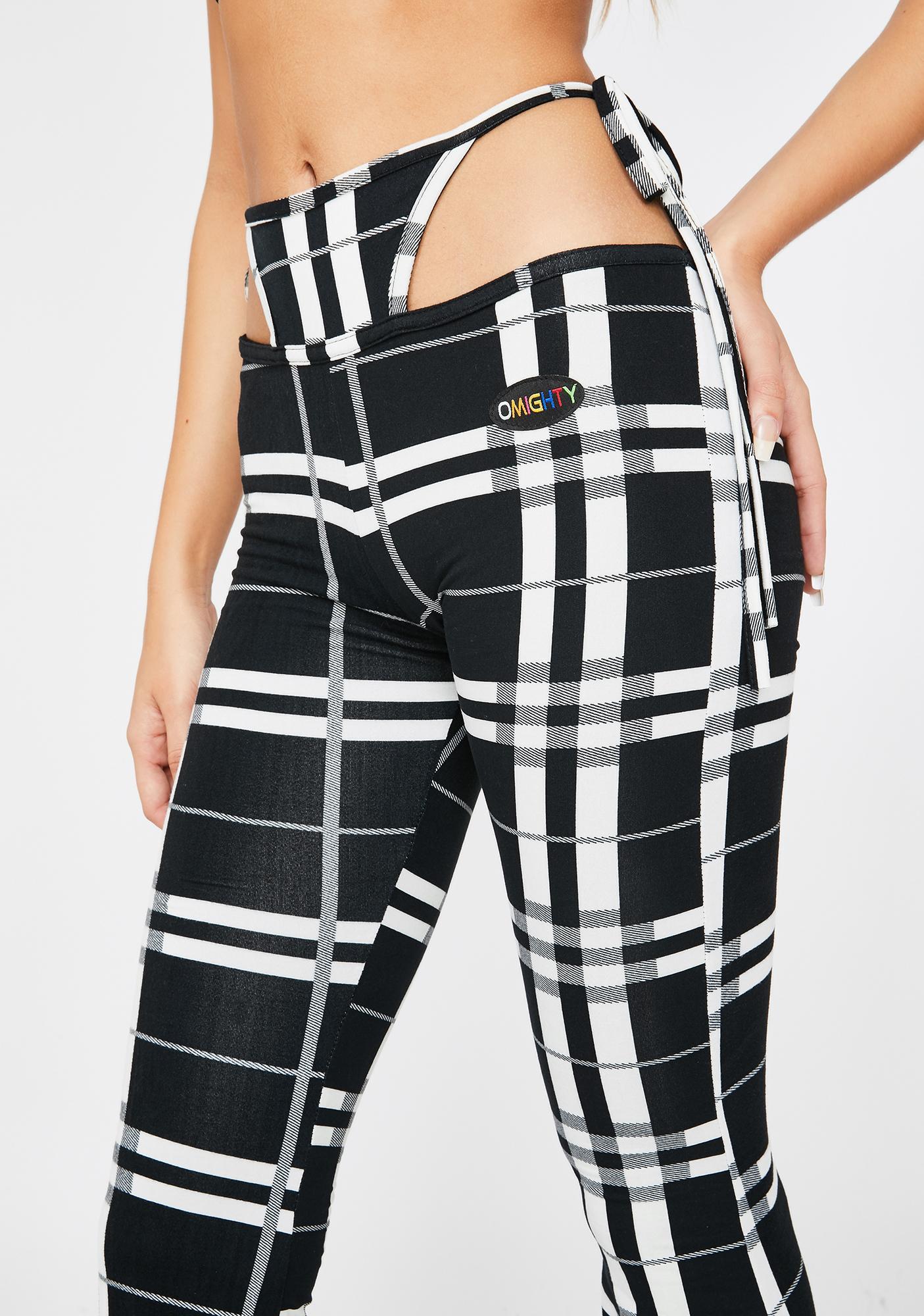 O Mighty OG G-String Tartan Pants
