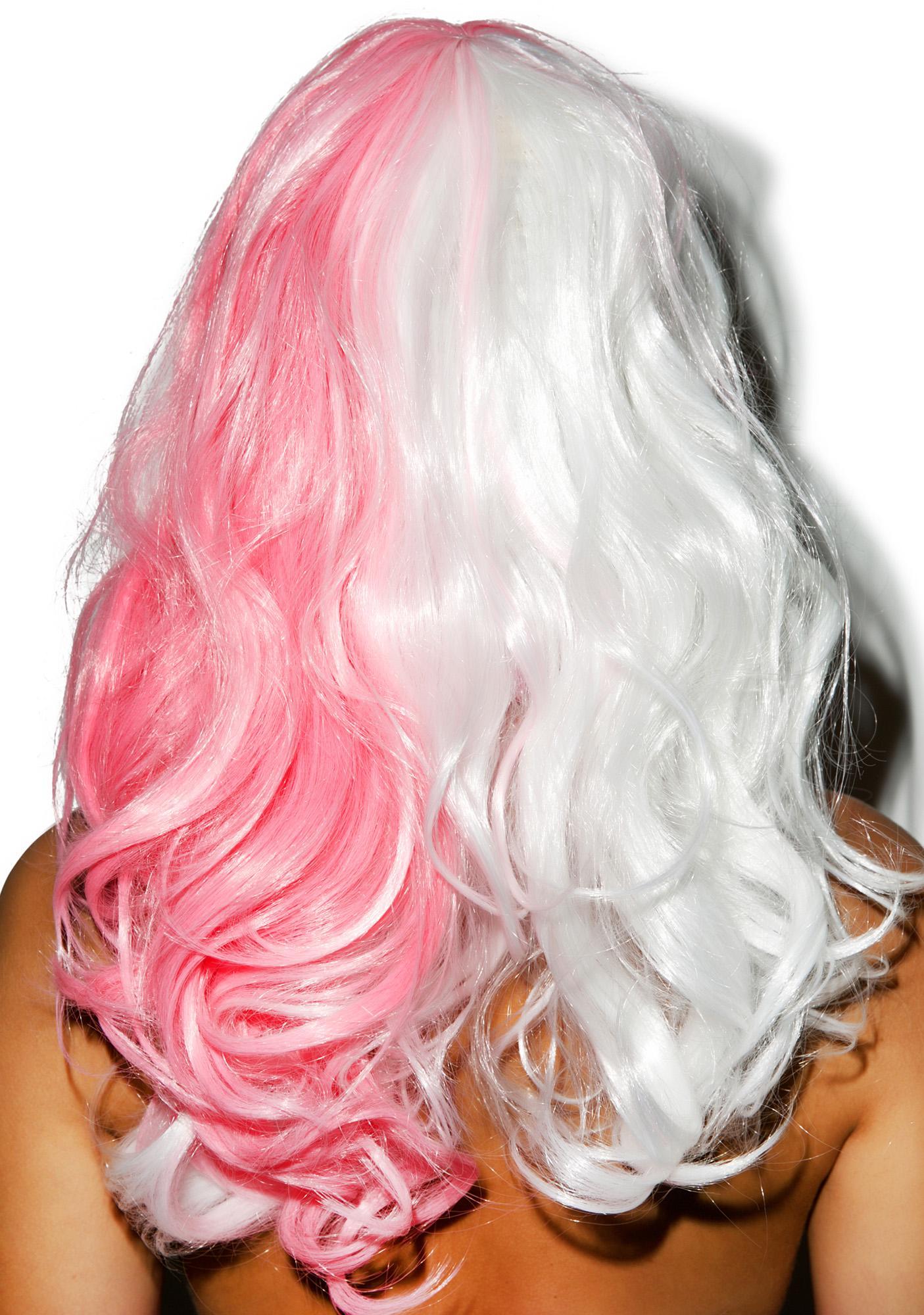 Half N' Half Sorbet Wig