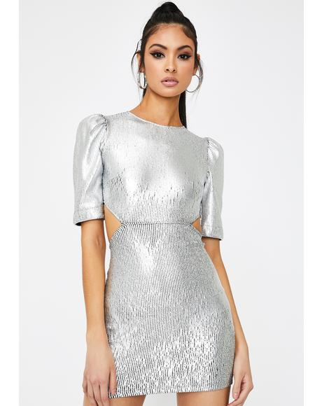 Chrome Heart Cut-Out Dress