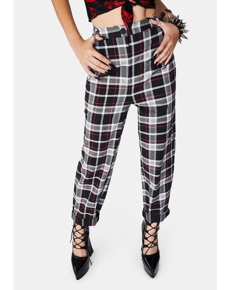 Forget It Tartan Pants