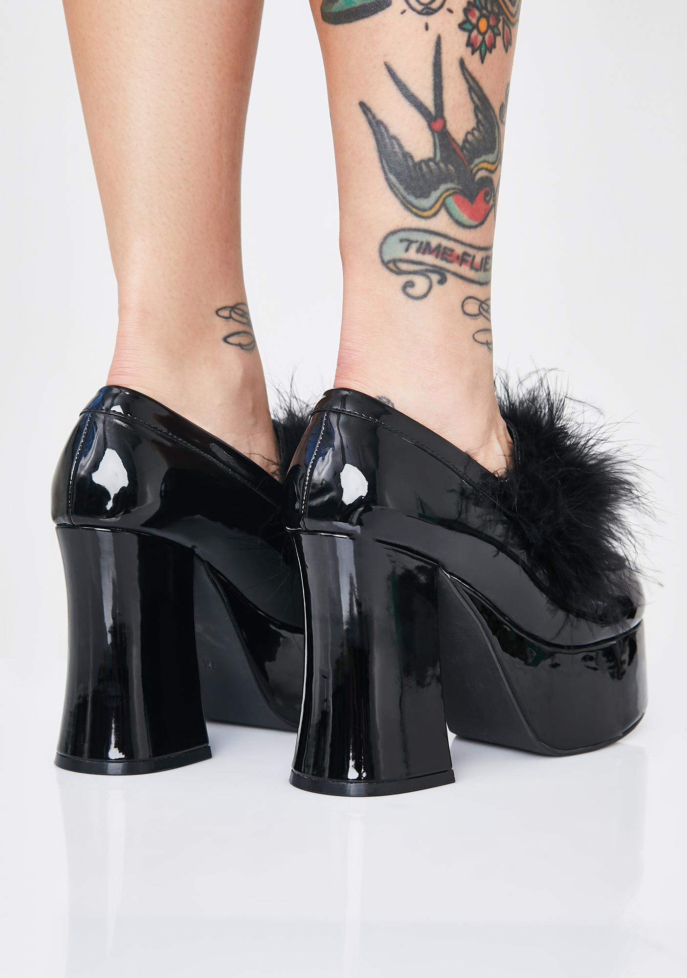 Sugar Thrillz Gossip Girl Platform Heels