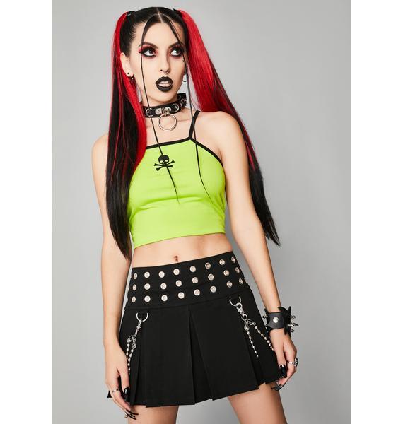 Widow Meant For Dread Mini Skirt