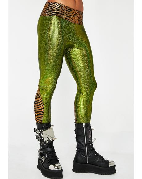 Green Machine Meggings
