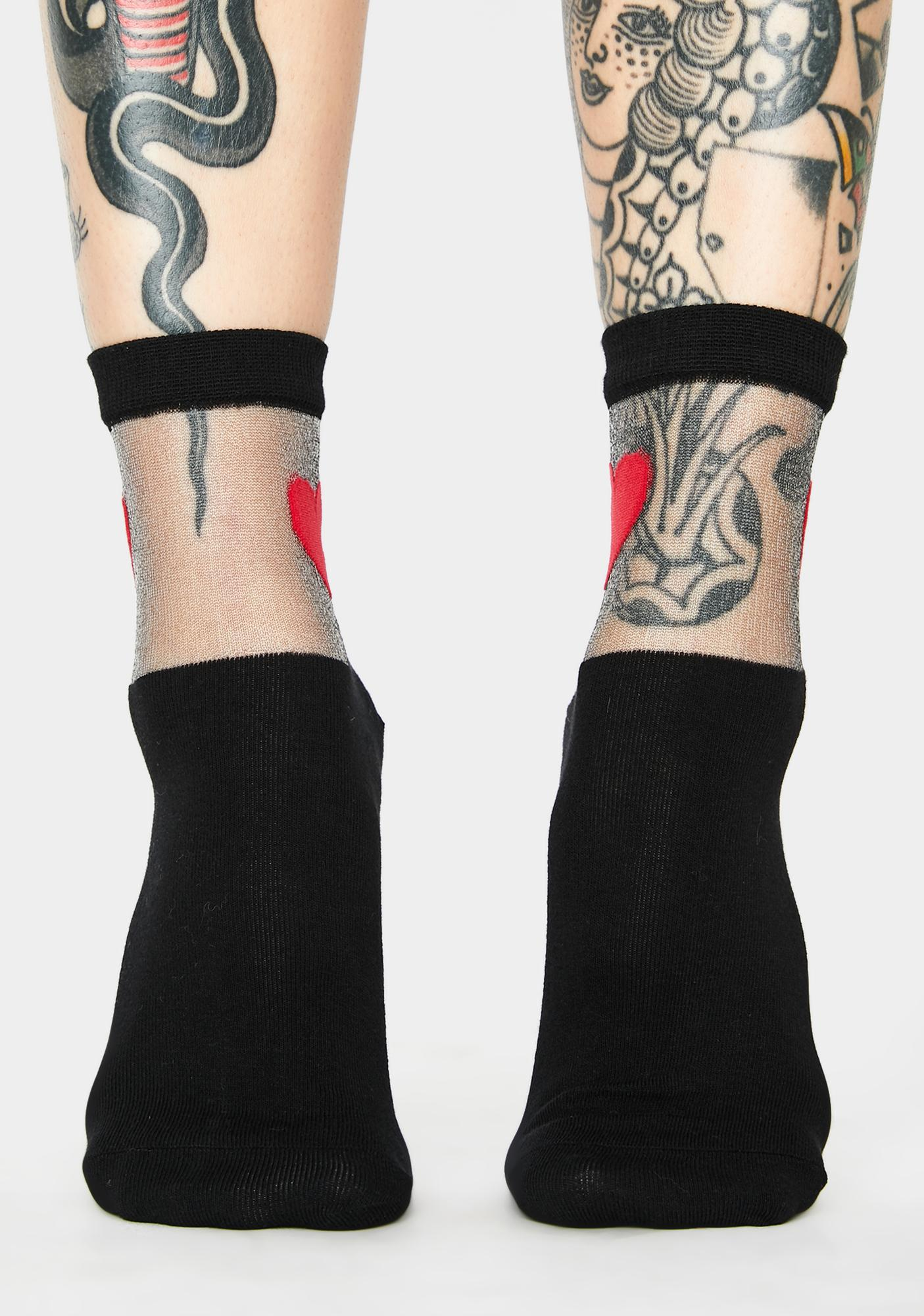 Solemates Heart Socks