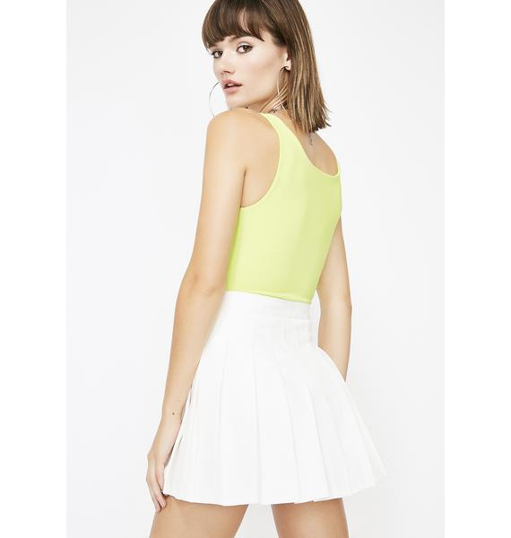 Icy Just Like Candy Pleated Skirt