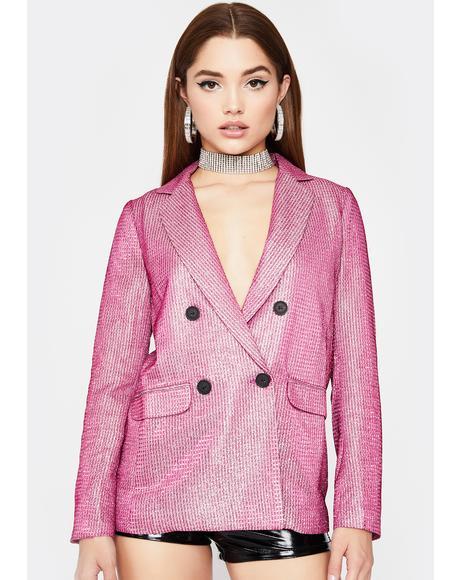 Sweet Disco Diva Sparkle Blazer