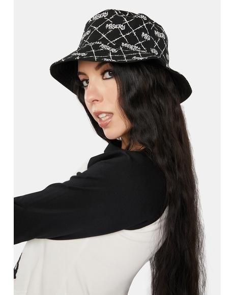 Reversible Embroidered Bucket Hat