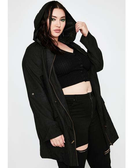 She's Totally Feelin' Tough Anorak Jacket