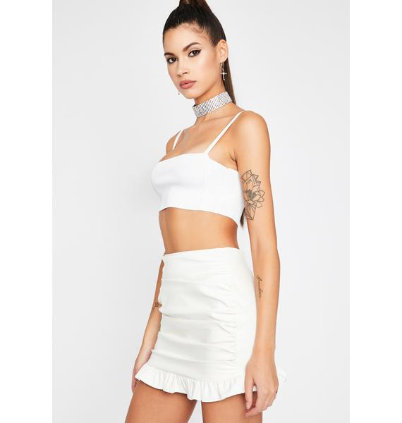 Icing On The Cake Mini Skirt