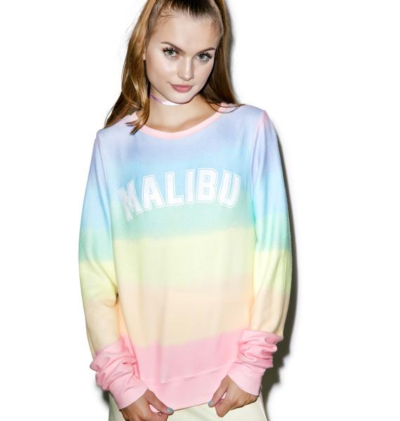 Wildfox Couture Malibu Sunscreen Baggy Beach Jumper