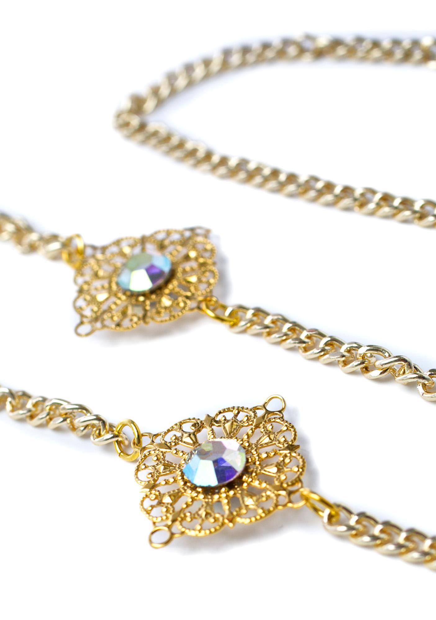 Vidakush Aurora Borealis Sunglass Chain