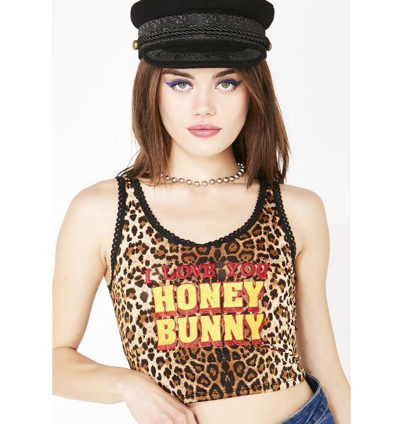 O Mighty Fierce Honey Bunny Cami Top