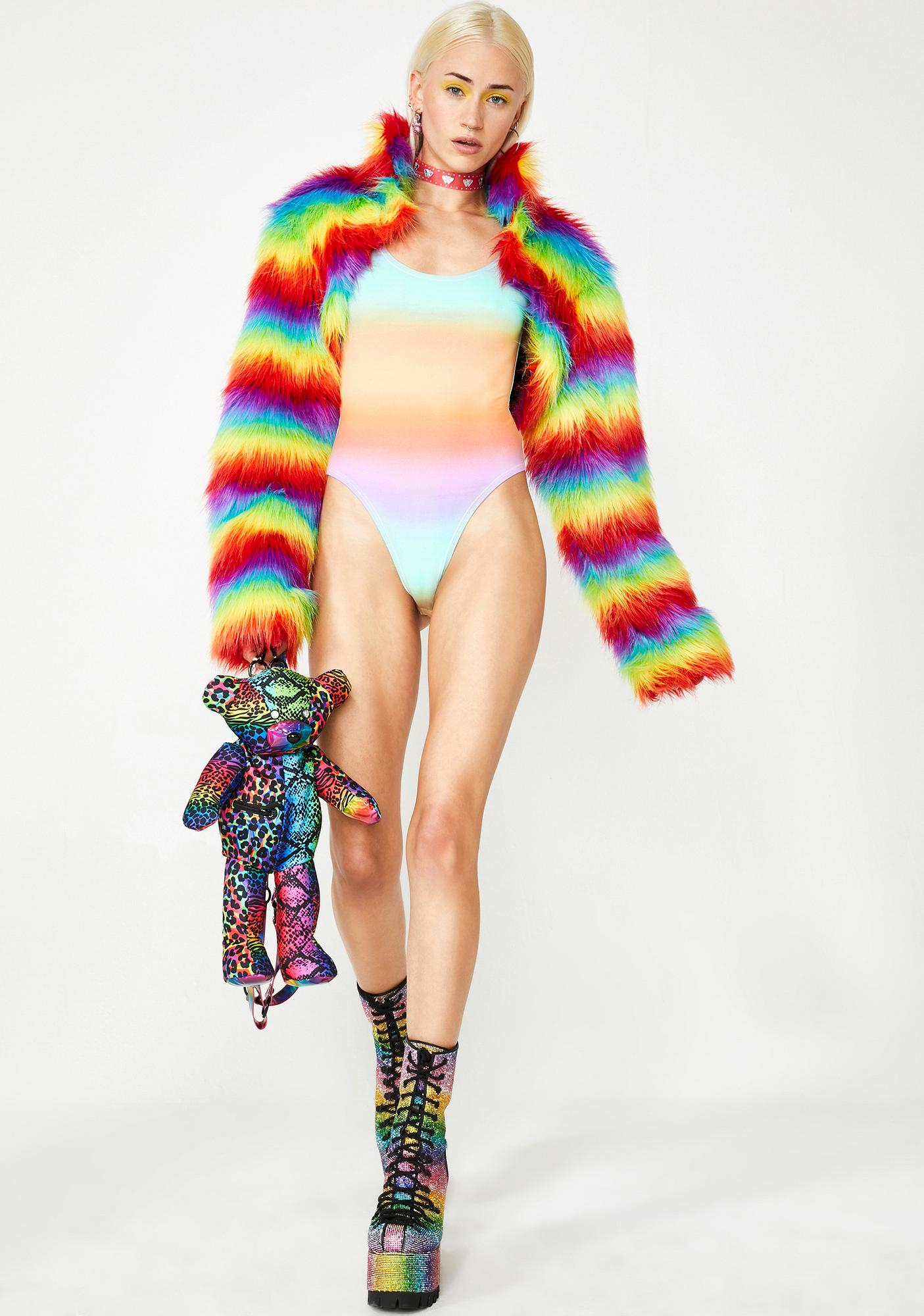 Melting Dreamz Rainbow Bodysuit