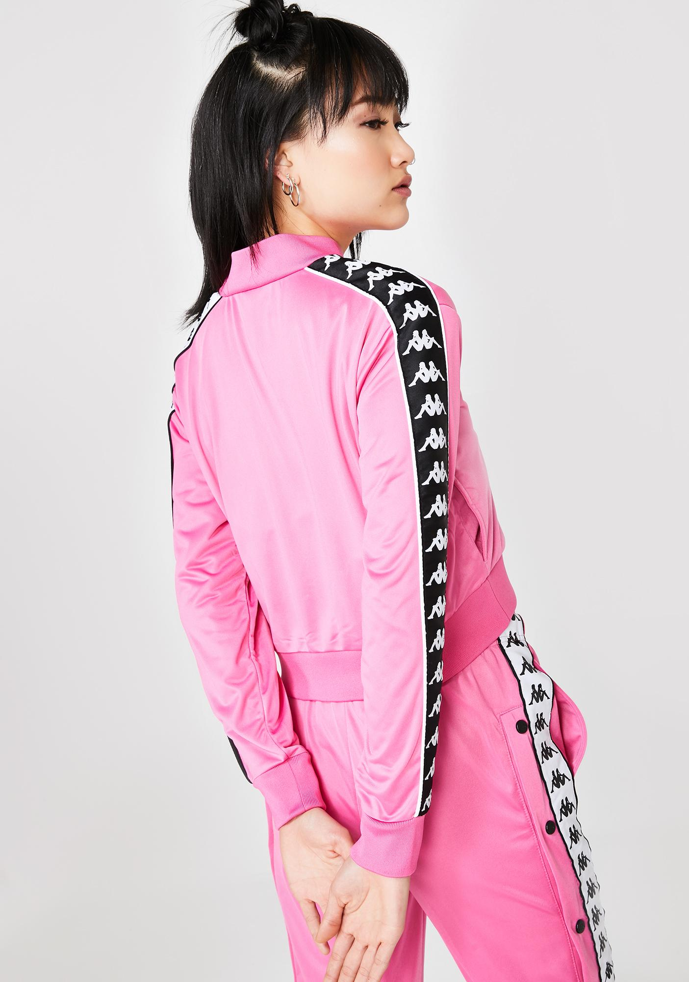 Sweet 222 Banda Asber Crop Jacket by Kappa