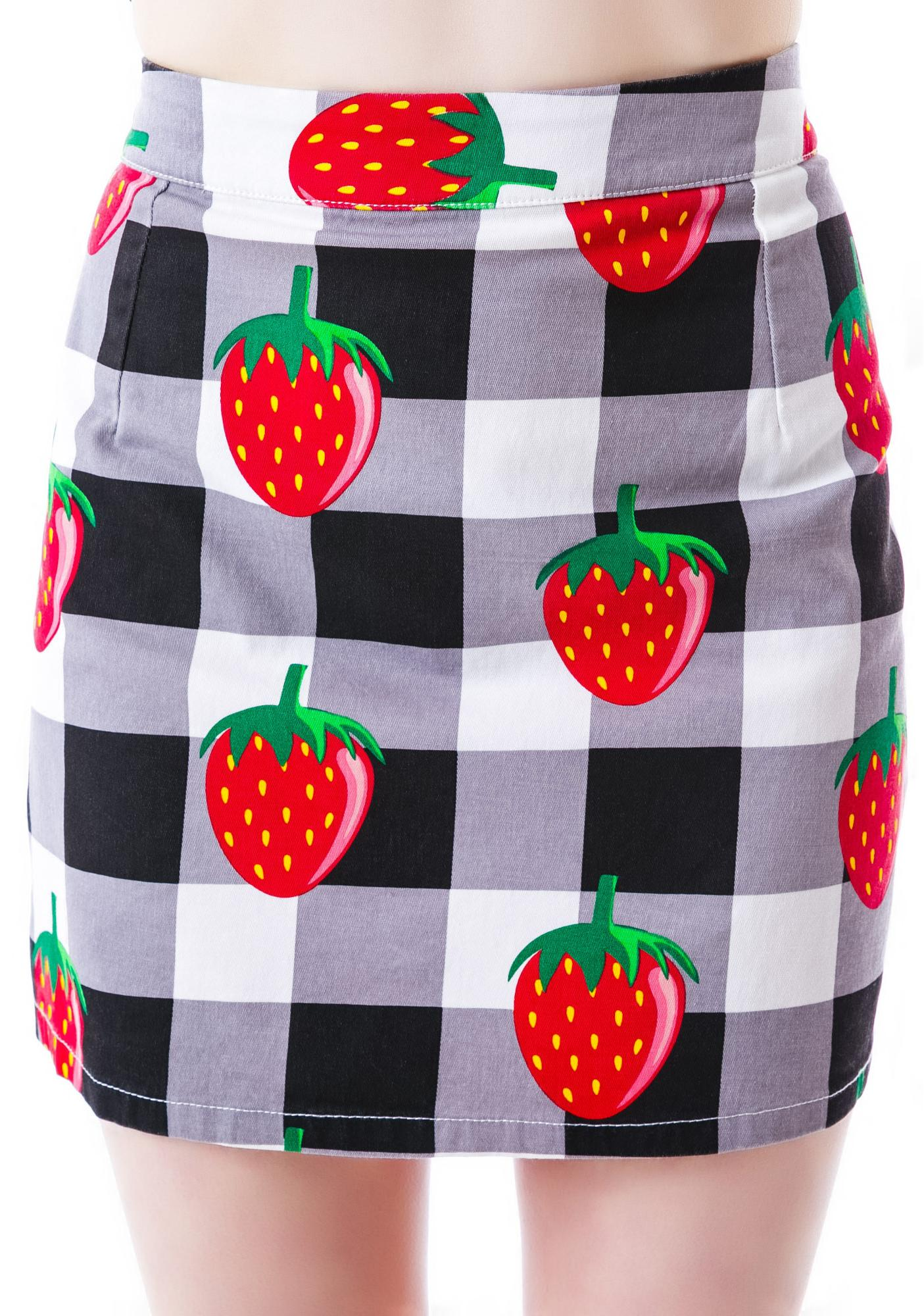 Lazy Oaf Check It Out Skirt
