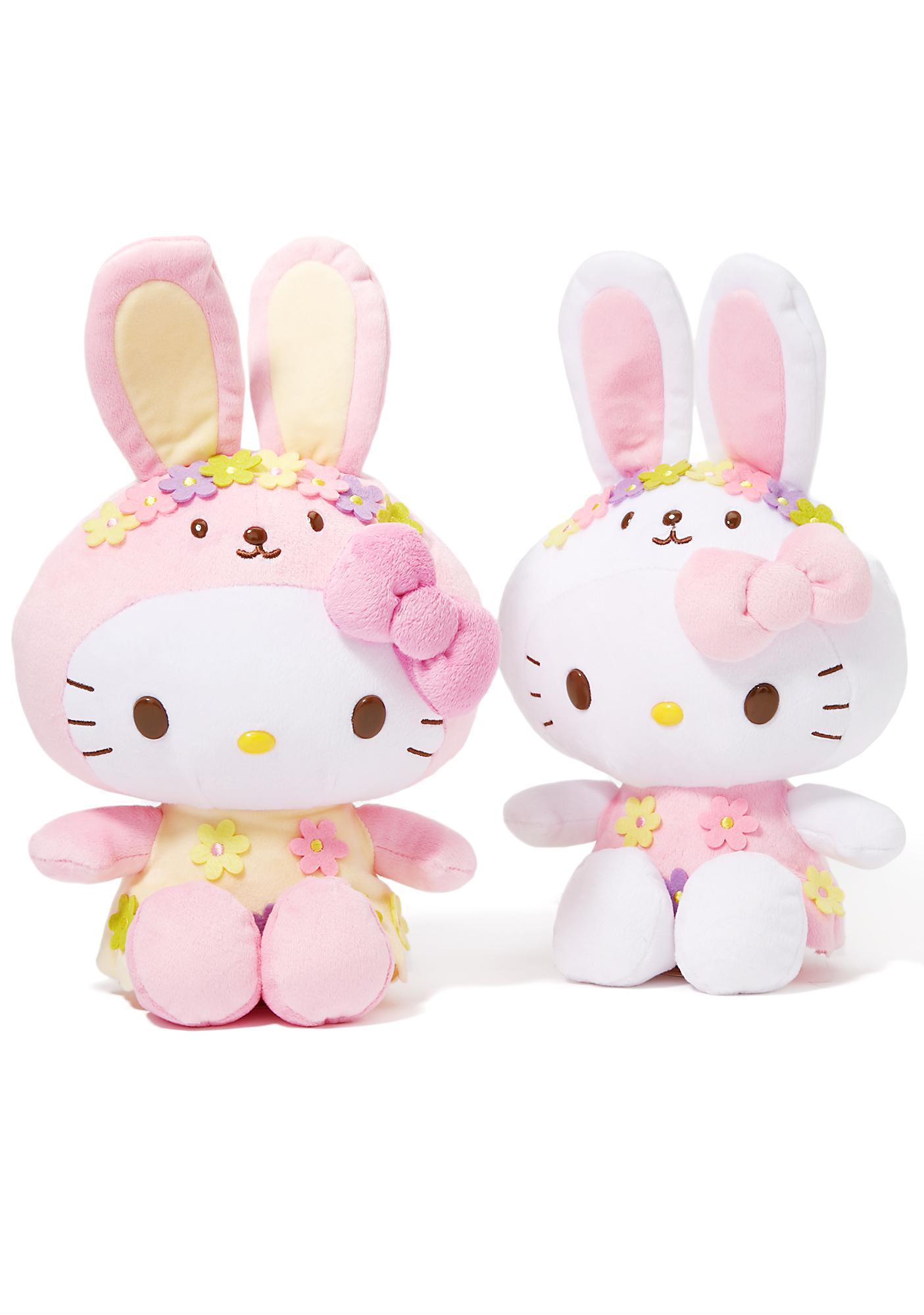 Sanrio Hello Kitty Bunny Plush Set