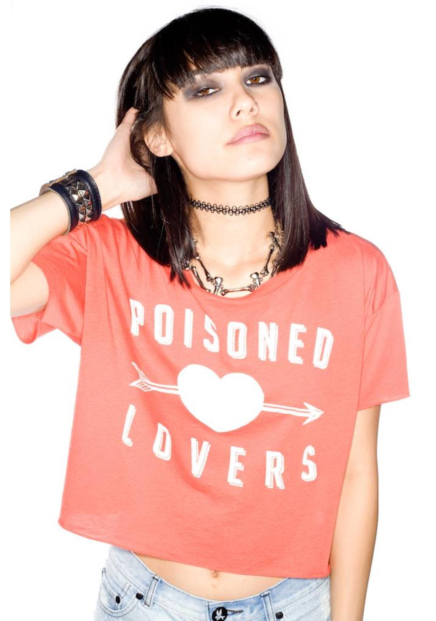 Zoe Karssen Poisoned Lovers Cropped Tee