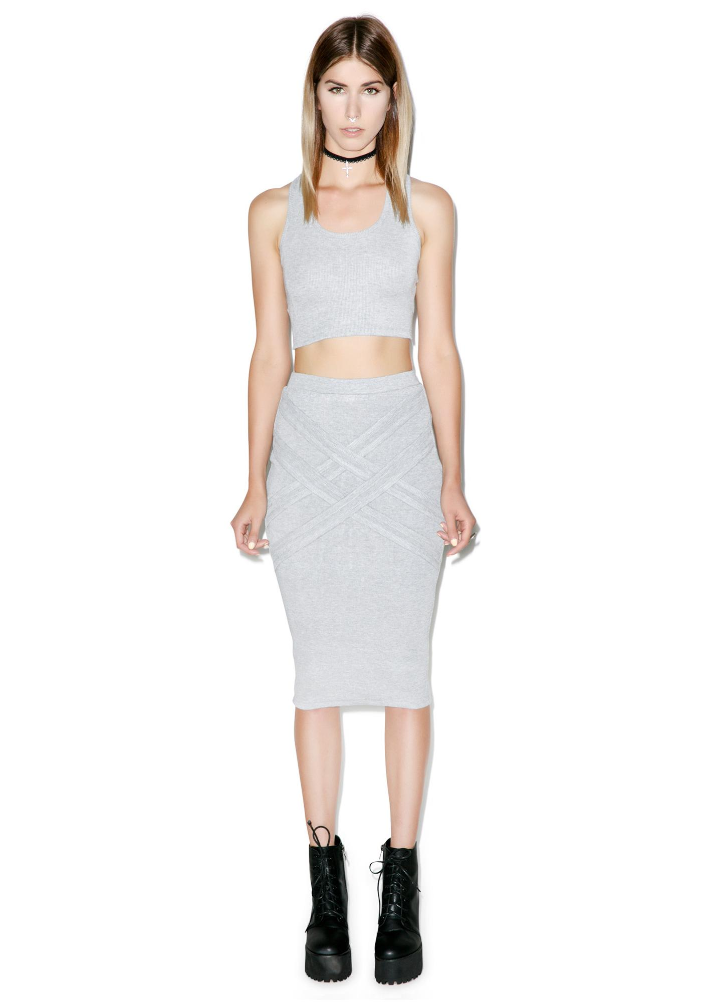 Nefertiti Rib Skirt