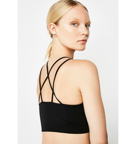 Silent Arrow I'm Down With It Sports Bra