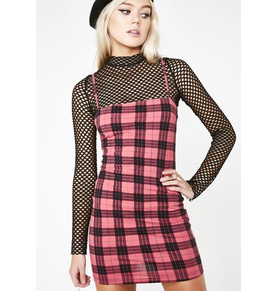 Motel Winter Plaid Selah Dress