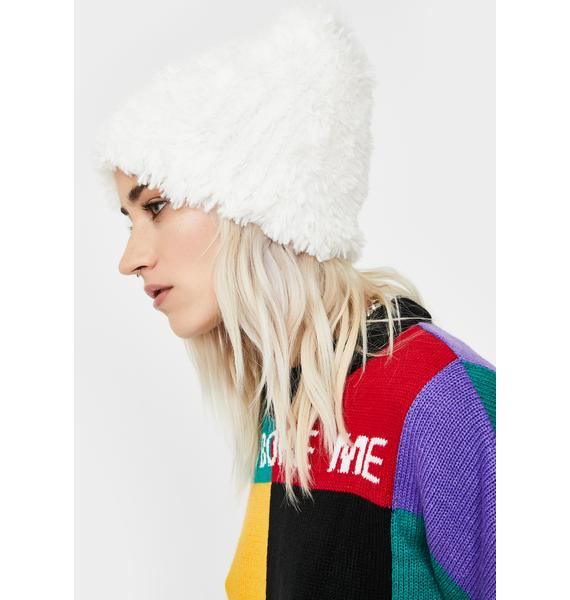 Free People Head In The Clouds Knit Beanie