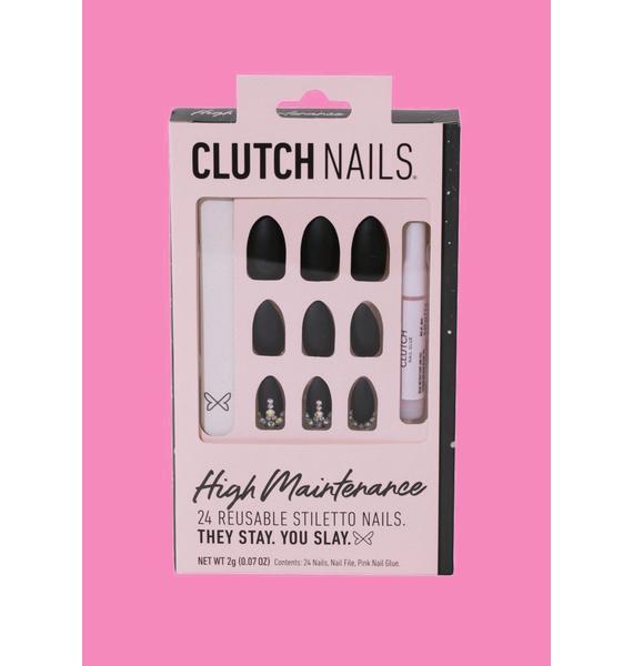 Clutch Nails High Maintenance Stiletto Press On Nails