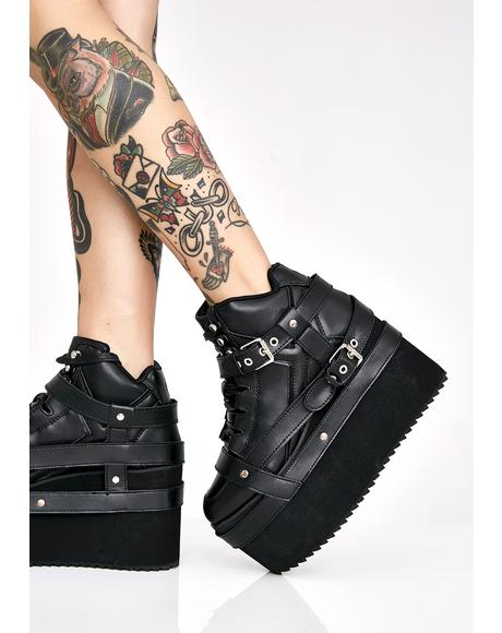 Qozmo Bondage Platform Sneakers