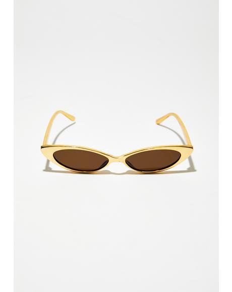 Box Seats Skinny Sunglasses