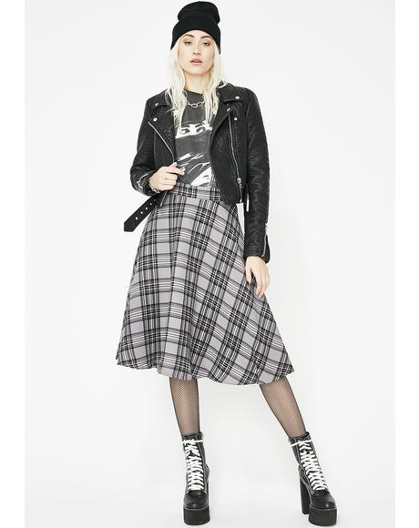 Keep It Casual Midi Skirt
