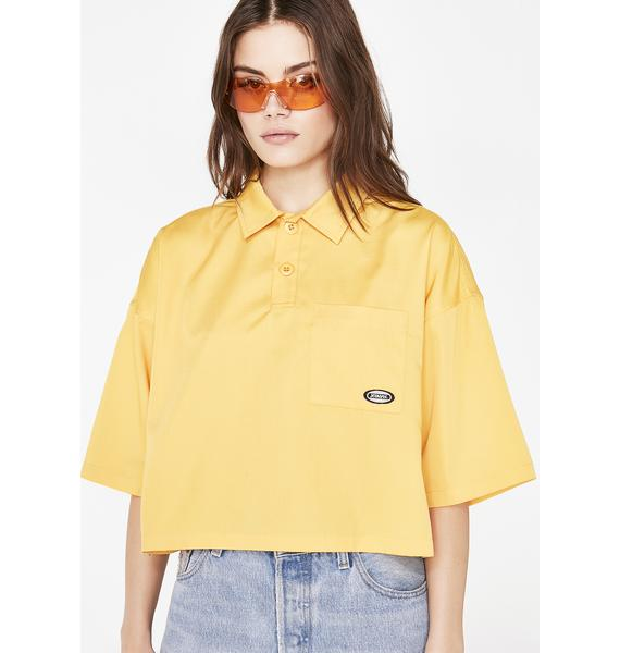 x-Girl 3/4 Sleeve Top