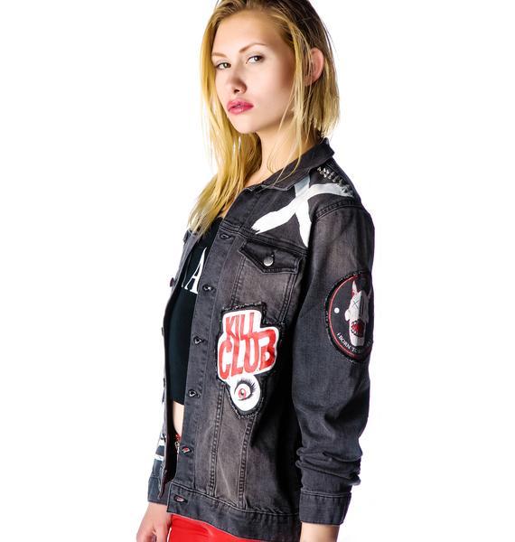 Disturbia Anti-Hero Denim Jacket