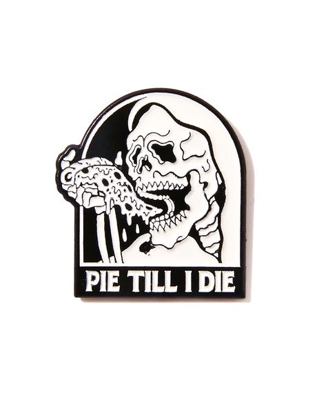Pie Lapel Pin