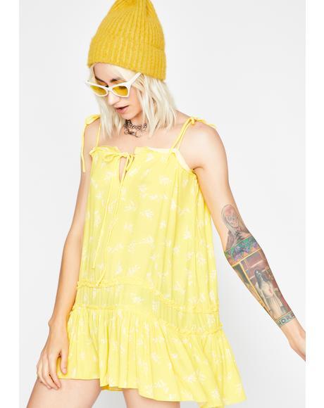 Sunny Sweet Glade Babydoll Dress