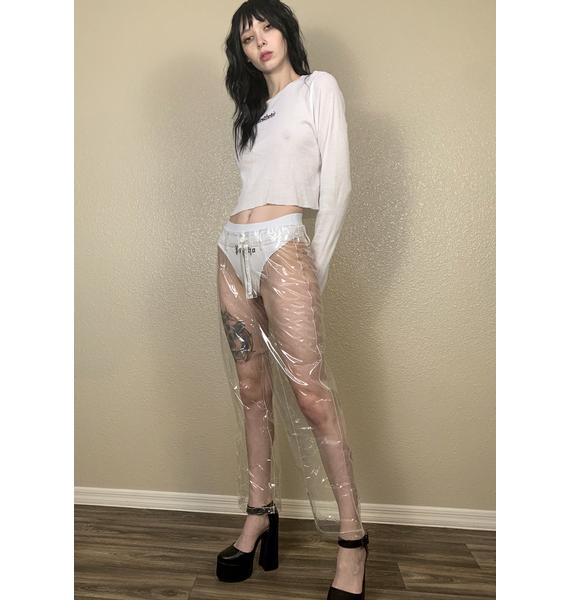 Marigold Shadows Antler Transparent Pants