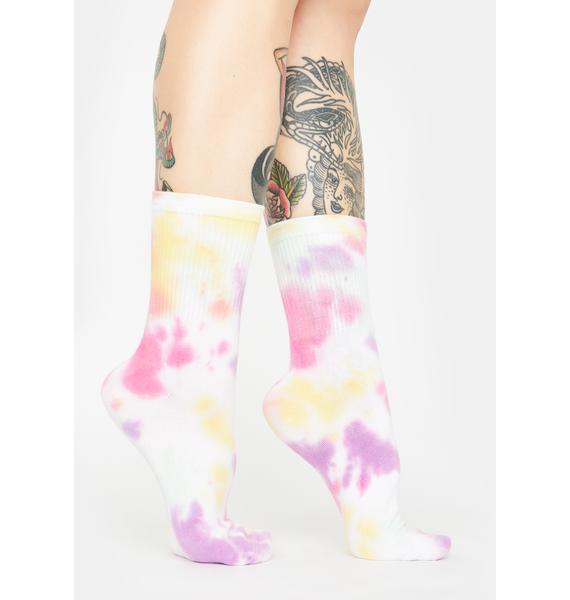 It's A Trip Tie Dye Socks