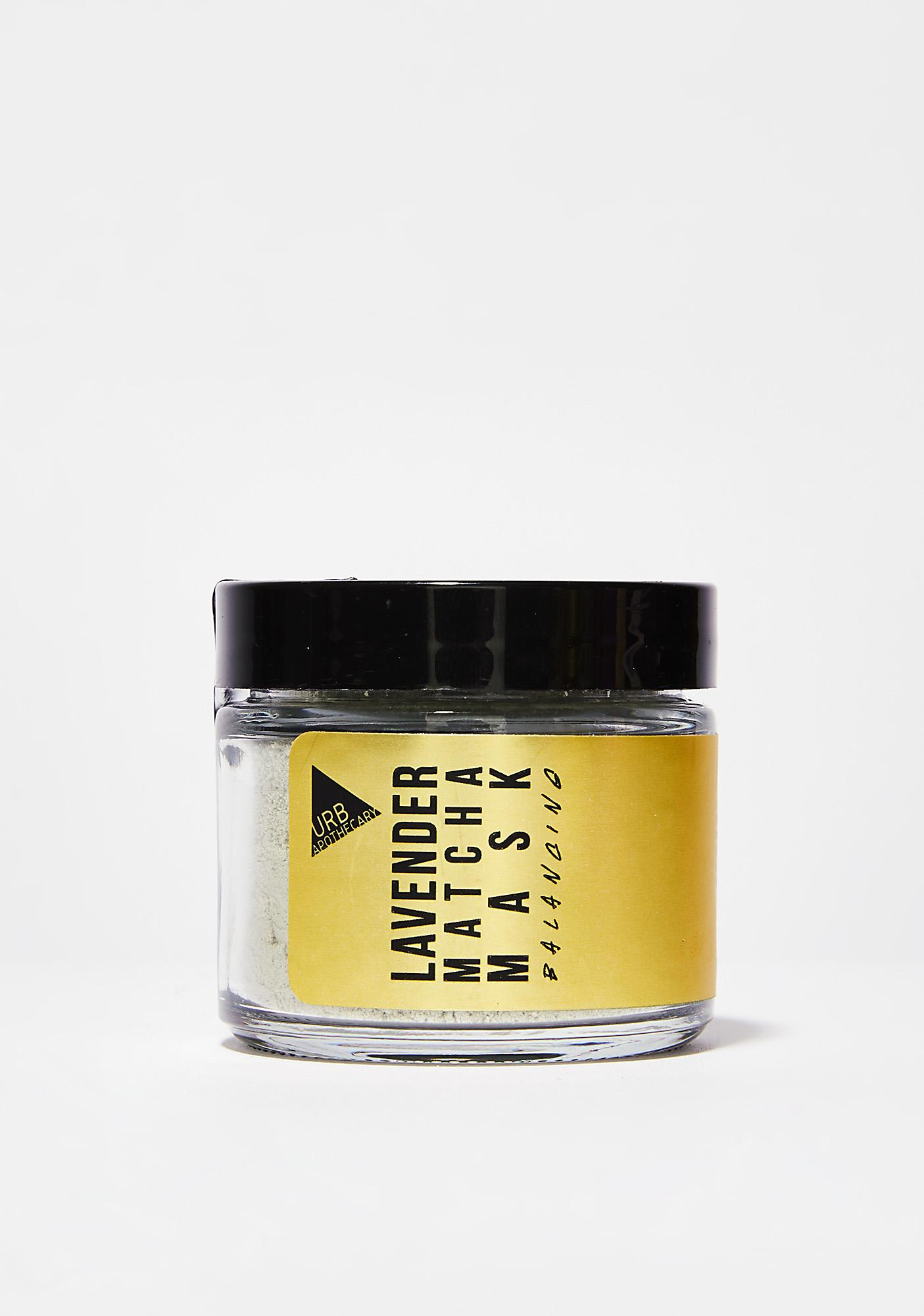 URB APOTHECARY Lavender Matcha Mask