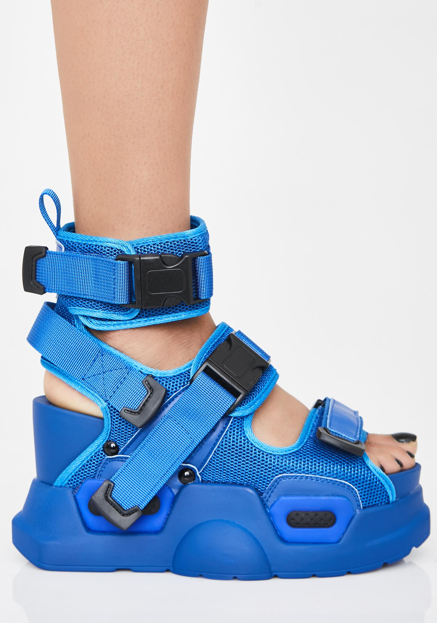 Anthony Wang Wavy Daily Hustle Platform Sandals