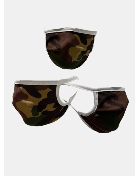 Camo Got Ur Back Face Mask