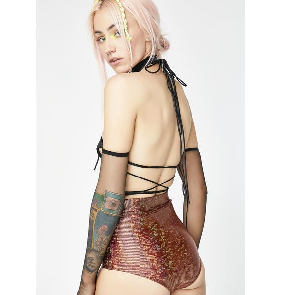 Club Exx Bronze Mesmerized Vibe Hot Pants