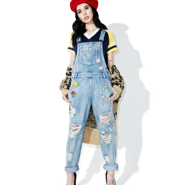 Playground Patch Overalls