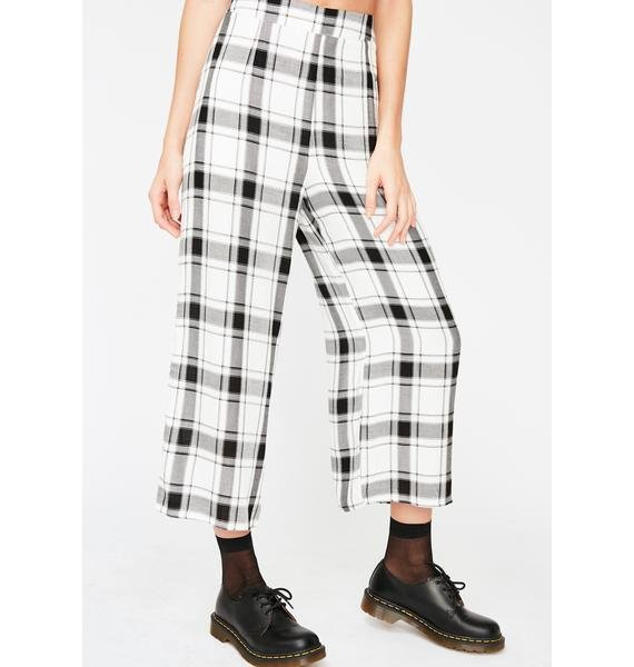 No Excuses Plaid Pants
